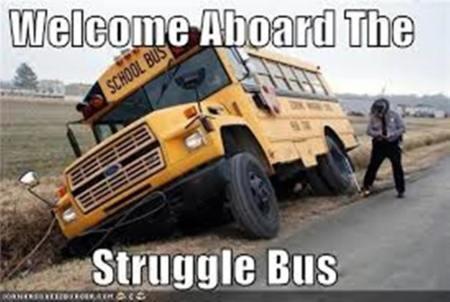 struggle bus